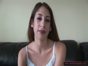 Sweet Young Vickie Suck Off free