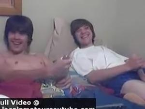 two twinks on webcam