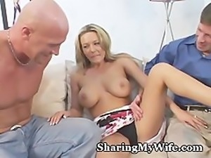 Wifey Is Stuffed With Friends Cock Too