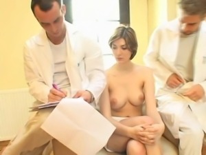 Boob exam by 2 doctors