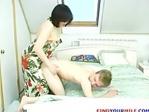 Russian Mature Mom Femdom 6