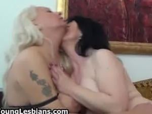 Two horny mature wifes sharing part3