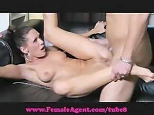 FemaleAgent. Talented cock