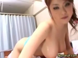 Japanese nurse stripteasing free