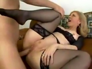 Nina Hartley doing anal