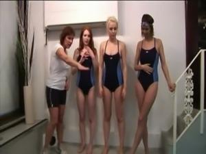 Cfnm swim coach humiliated free