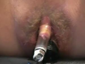 Enema pussy