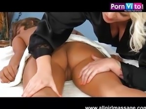 Beautiful lesbians and real orgasms