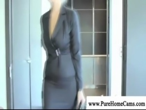 Blonde milf seduced by salesguy free