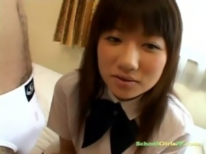 Schoolgirl Getting Her Face Rub ... free