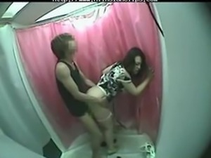 Asian Couple Fuck In Changing Room asian cumshots asian swallow japanese chinese
