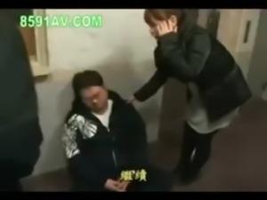 Japanese girl seduced. free