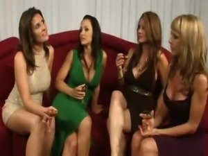 spankwire american milf 2 - lesbian orgy w lisa ann julia ann raquel devine...