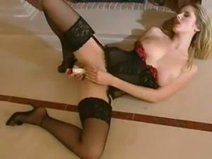 Jane Darling In Stockings