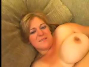 BBW chick goes anal