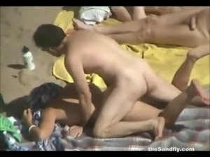 theSandfly - Public Beach Sex Spectaculer! free
