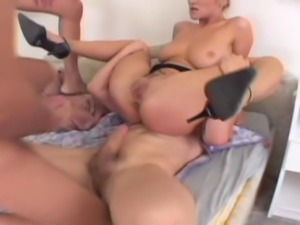 23 year old 5 foot 9 inch blonde from Czech Republic does rough anal and DP...