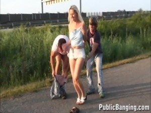 Public - risky public sex three ... free