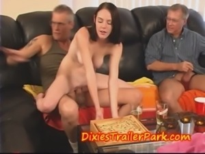 Teen fucks Daddy after School free