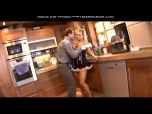 Wife away but hot maid at home-1 free