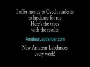 Lapdance with handjob and tityjob by wild czech blonde free