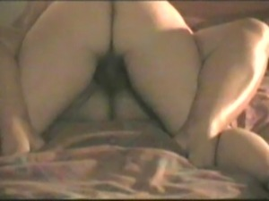 Hot mature fat wife wants his cock up her ass hole