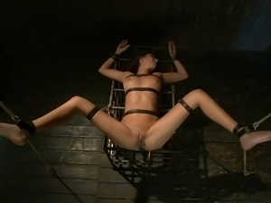 A night of strict bondage and domination