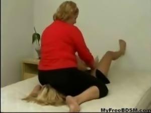 Brazilian Chubby Facesitting Skinny Babe bdsm bondage slave femdom domination