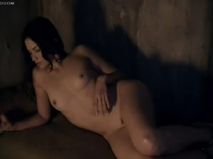 Watch this yummy compilation of Katrina Law's greatest nude moment on TV