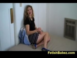 Abby cuckolding and cum eating free