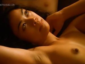 Enjoy the sexy fox Tiffany Limos getting between 2 cocks