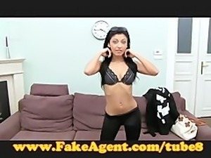 FakeAgent She makes spunk fly