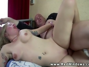 Real dutch hooker spoiling tourists dick as she rides his dick