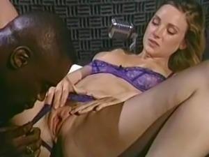 Classic 90s Interracial Porn!  Roxanne Blaze and Sean Michaels in Pornomania....