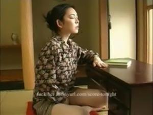 Shy Japanese masturbation free