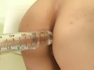 sexy korean anal fisting