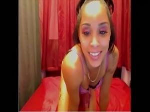 Avmost.com - ebony girl quanesha shakes ass on webcam free