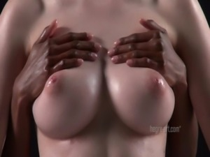 Valerie - Black & White Breast Massage free