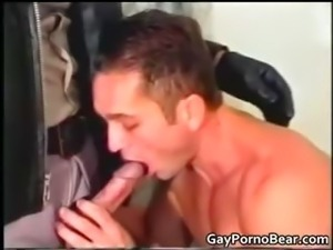 Nasty police officer gets hot blowjob part3