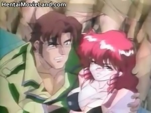 Cute anime redhead bondage queen Kate part4