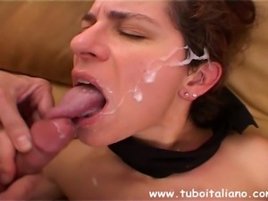 Italian Wife Threesome Moglie