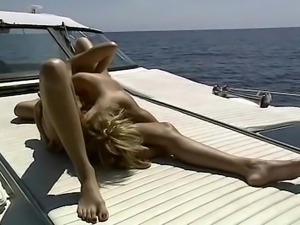 Babes on a boat