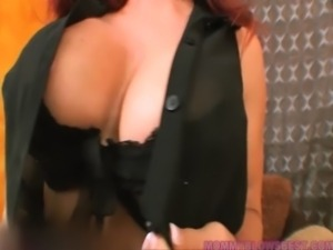 Hot Redhead Latina Mommy Likes That Young Cock free