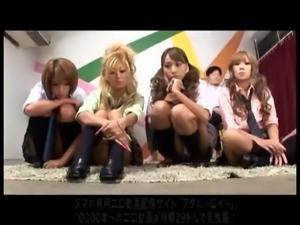 Japanese Bitch schoolgirl Gang Bang  Blowjob Hand Job teens free