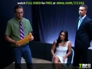 Roxy Jezel Chokes On A Huge Cock As She Gives A Deep Throat free