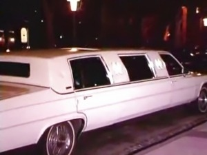 Sarah Young in limousine