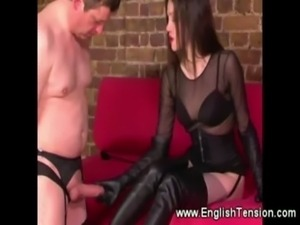 Domina likes her high boots full of cum free