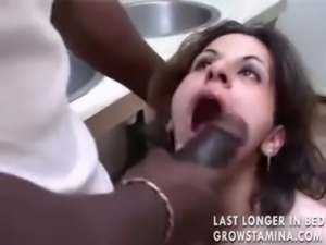 Black man fucks the wife in the asshole free