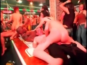 Whores taking cocks at orgy free