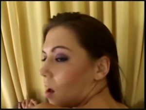 Look how excited she gets for the cock!